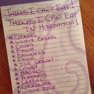 Things I can Eat