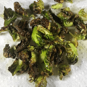 "Brussels Sprouts ""Chips""1"