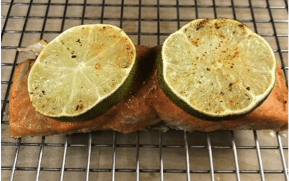 Cajun Lime Salmon Fillet